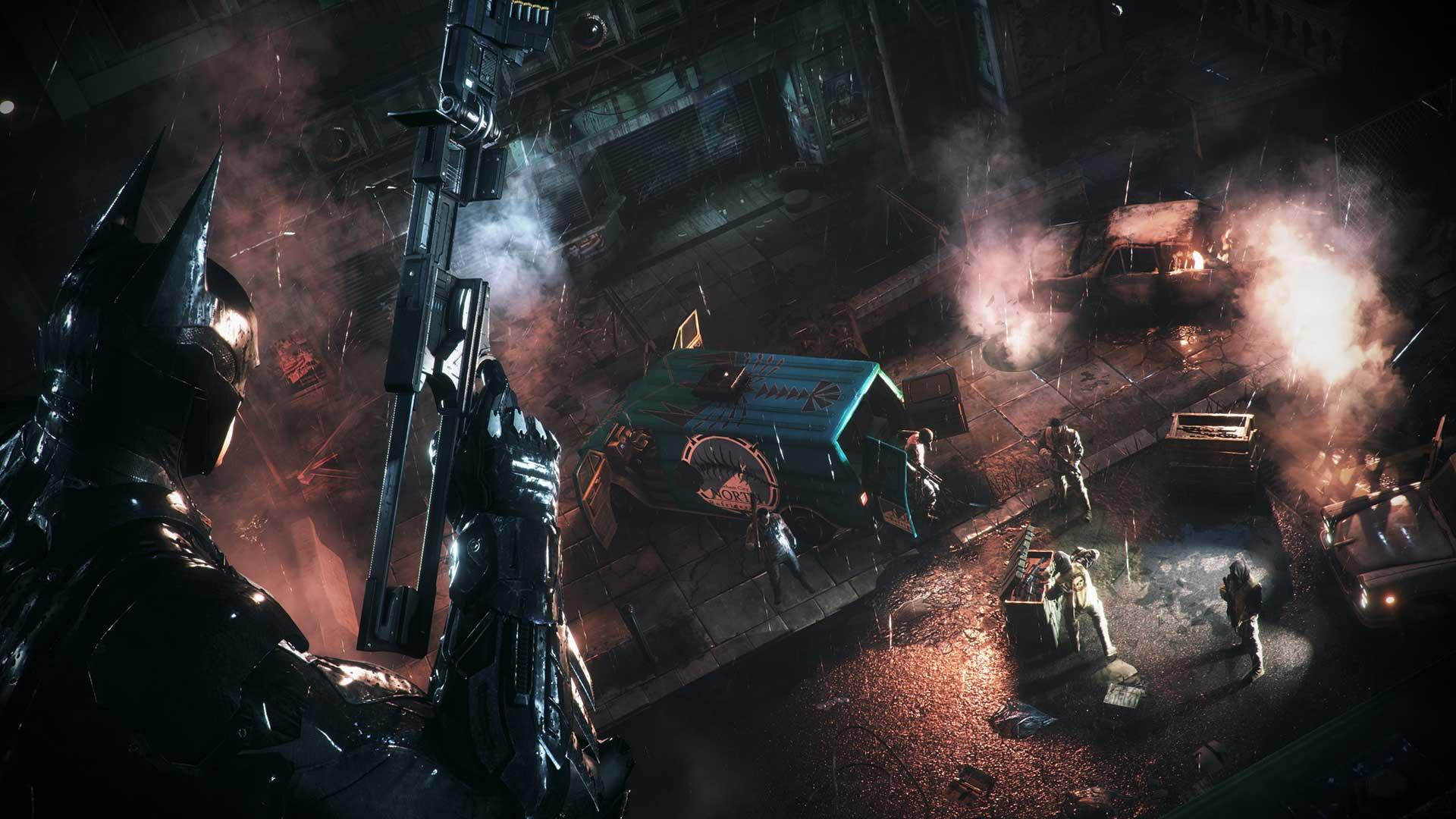 Скриншот №7 к Batman Arkham Knight