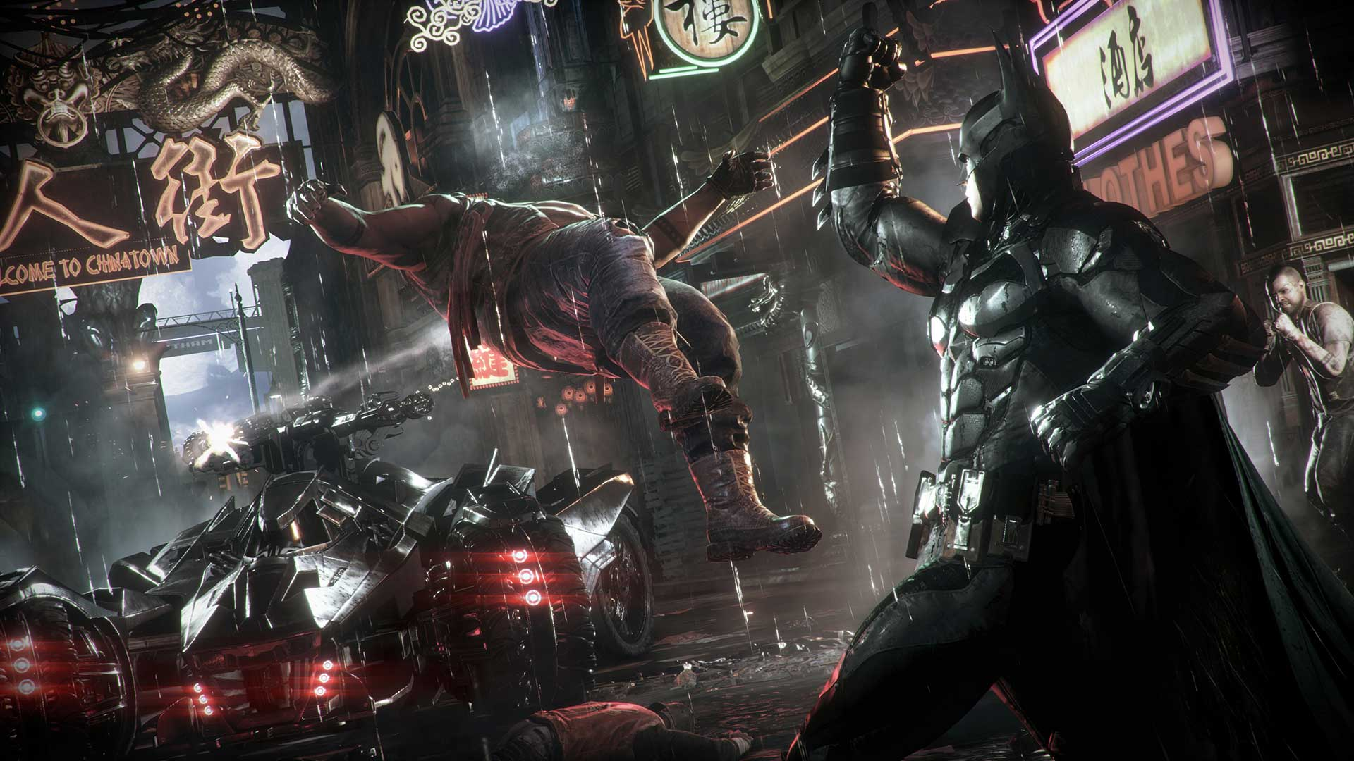 Скриншот №6 к Batman Arkham Knight