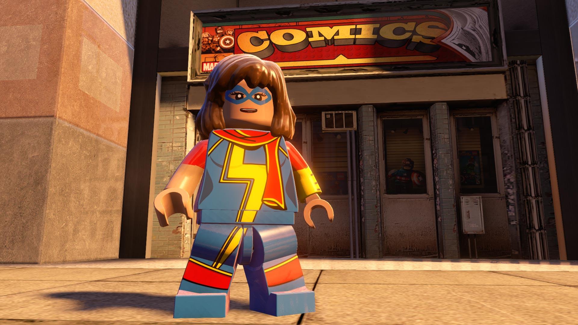 Скриншот №8 к LEGO Marvels Avengers