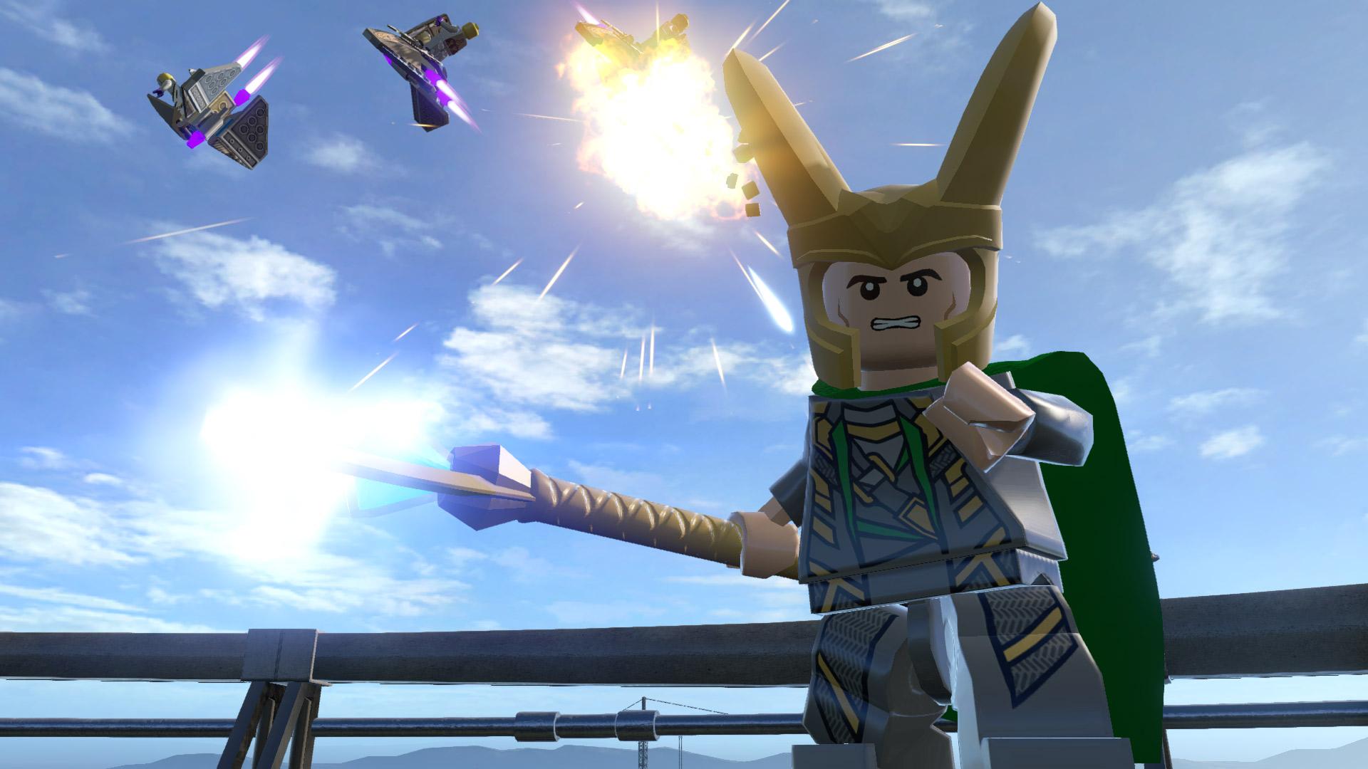 Скриншот №6 к LEGO Marvels Avengers