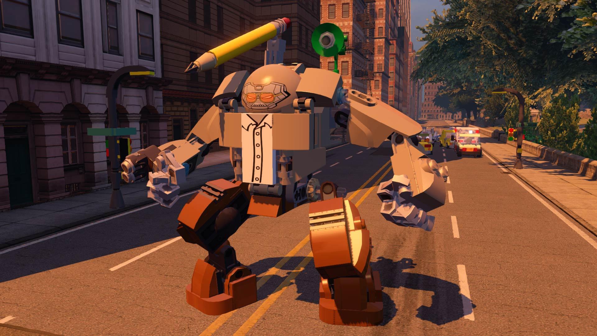 Скриншот №9 к LEGO Marvels Avengers