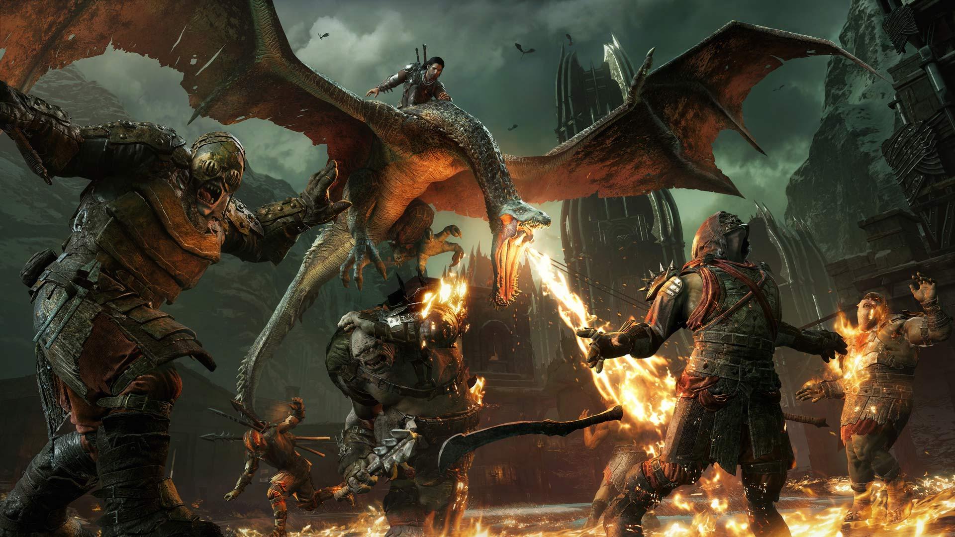 Скриншот №1 к Полное издание Средиземье Тени войны