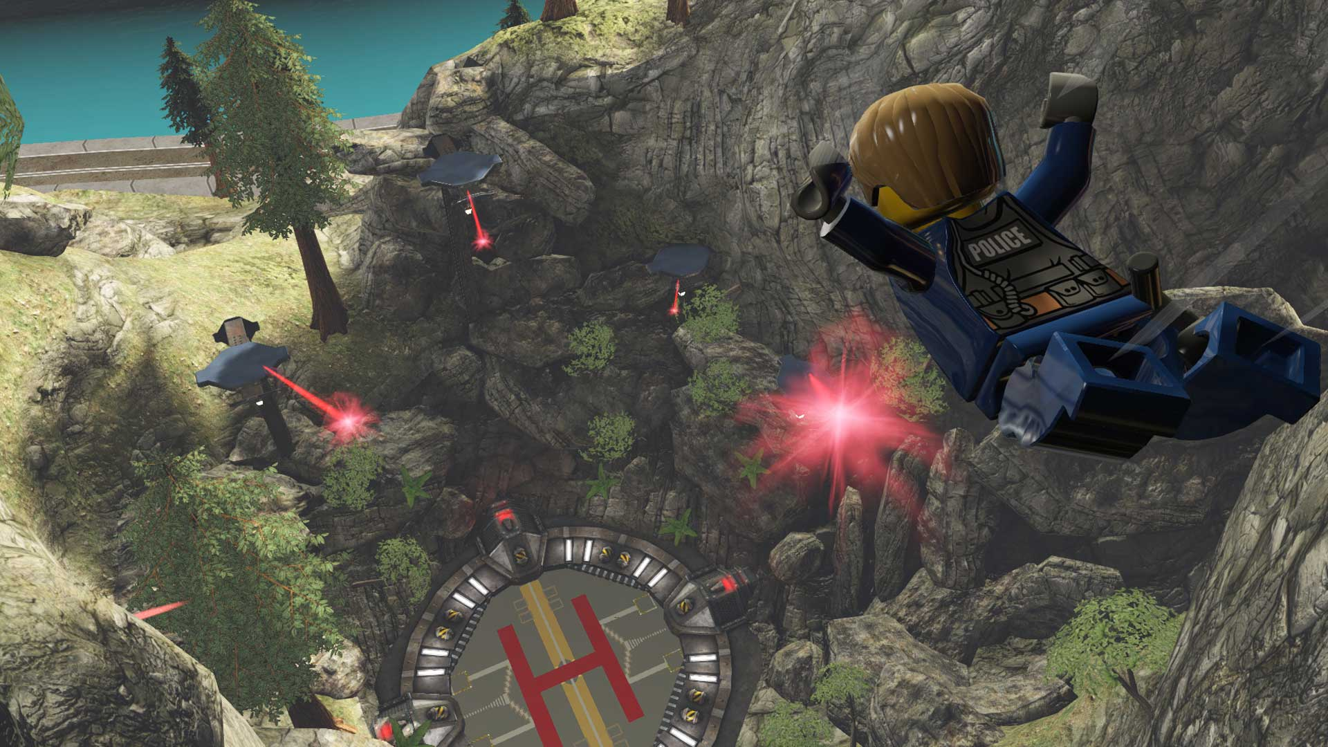 Скриншот №2 к LEGO CITY Undercover
