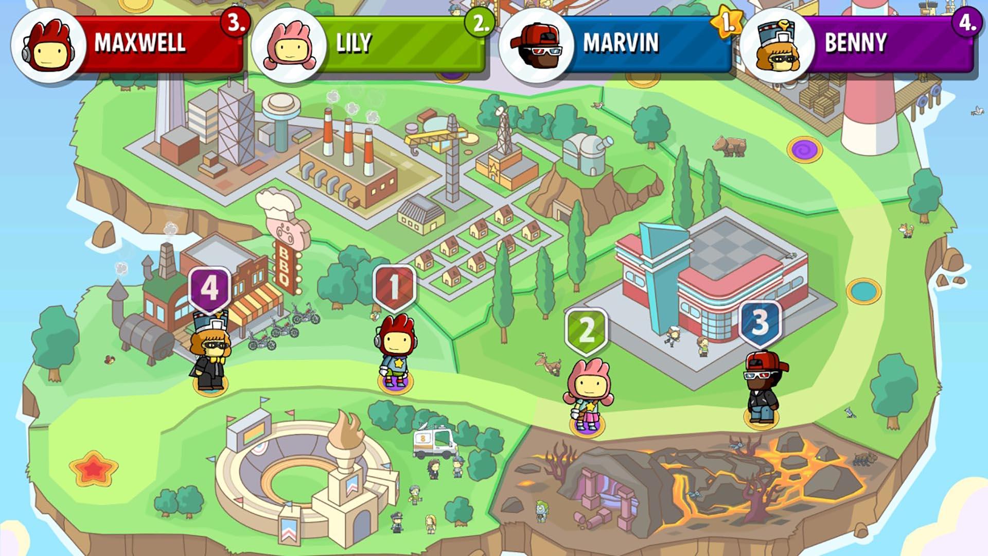 Scribblenauts Showdown скриншот 3
