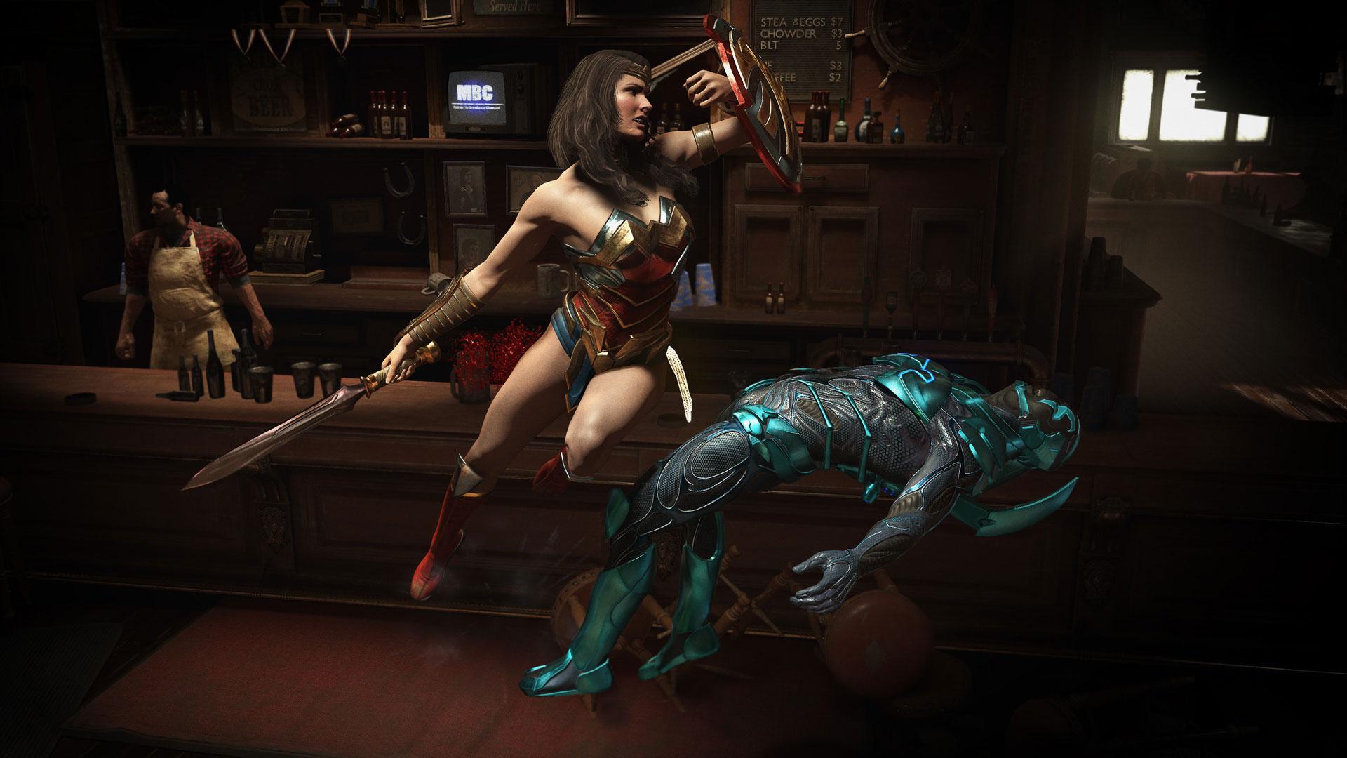 Скриншот №8 к Injustice 2 — легендарное издание