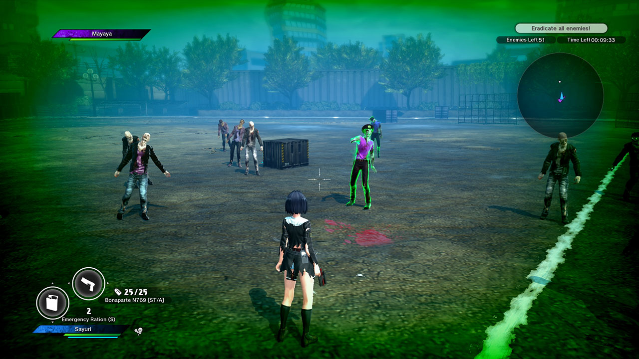 School Girl/Zombie Hunter скриншот 8