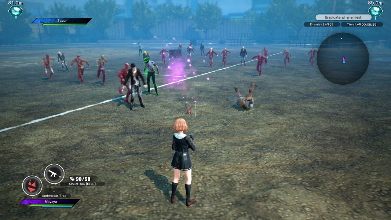 School Girl/Zombie Hunter скриншот 7