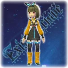 Exist Archive - Koharu's Color Variation C Costume
