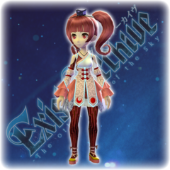 Exist Archive - Ema's Color Variation B Costume