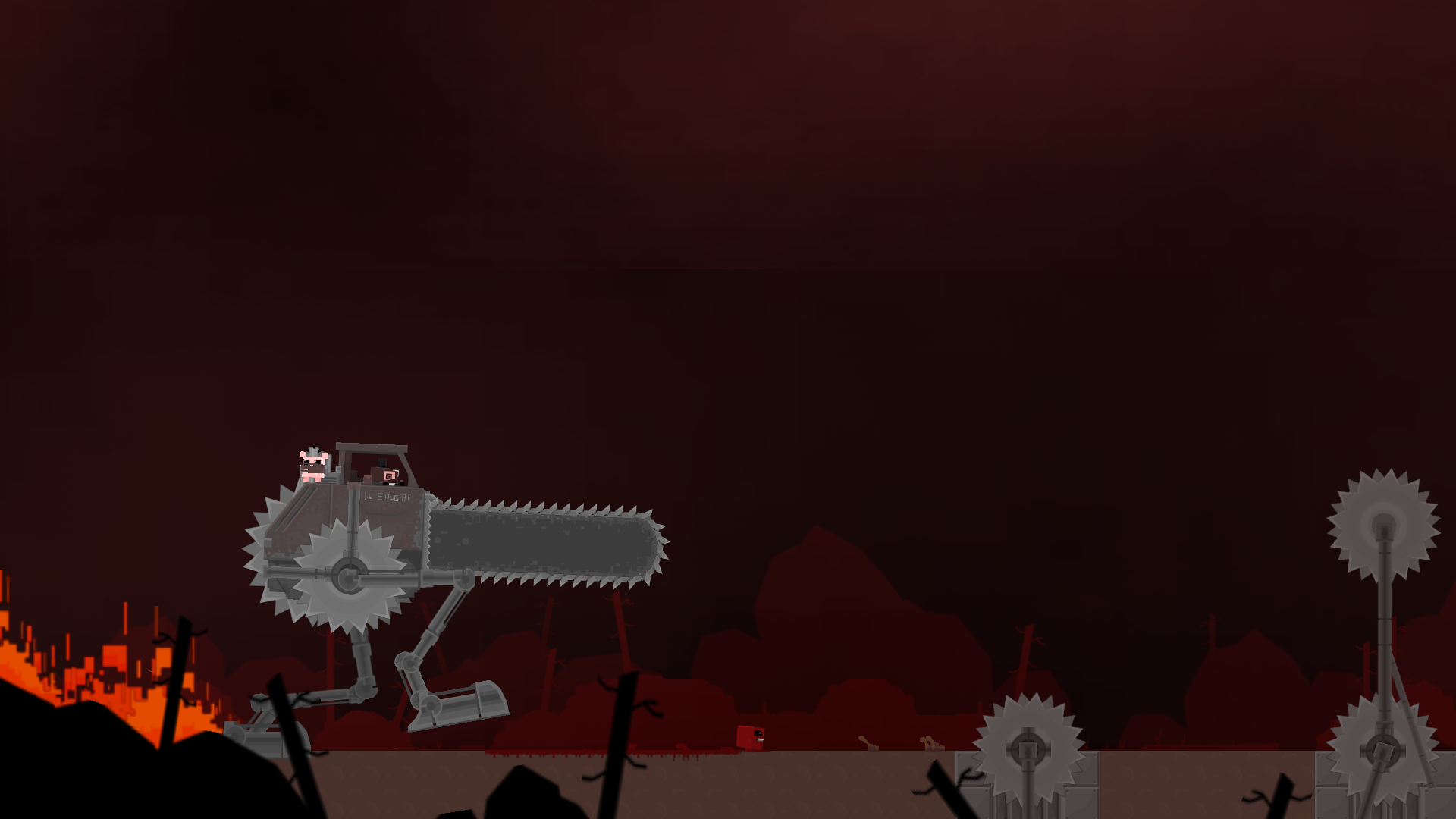 Скриншот №10 к Super Meat Boy