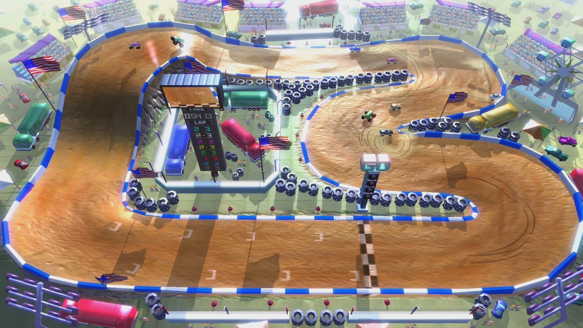 Скриншот №1 к Rock N Racing Bundle
