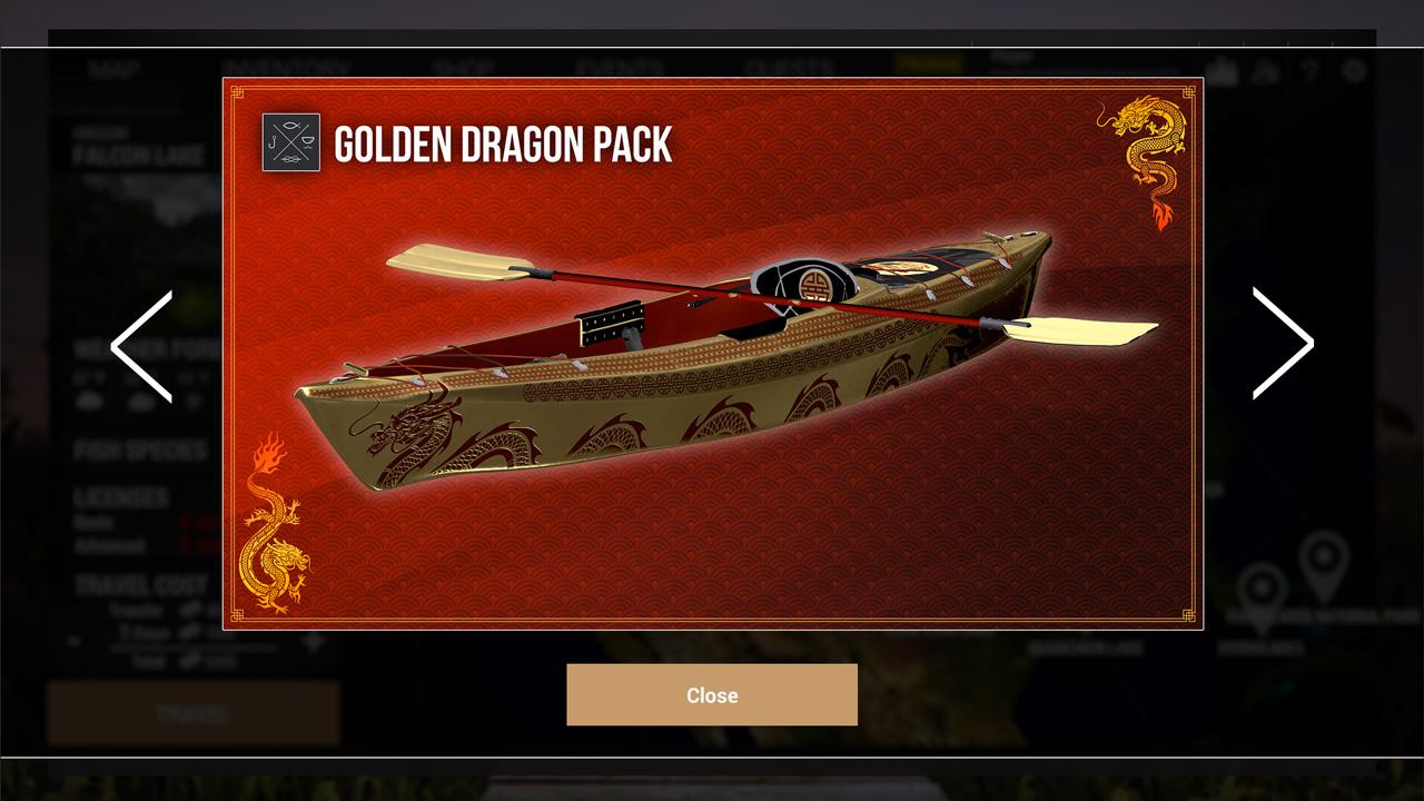 Fishing Planet: Golden Dragon Pack скриншот 5