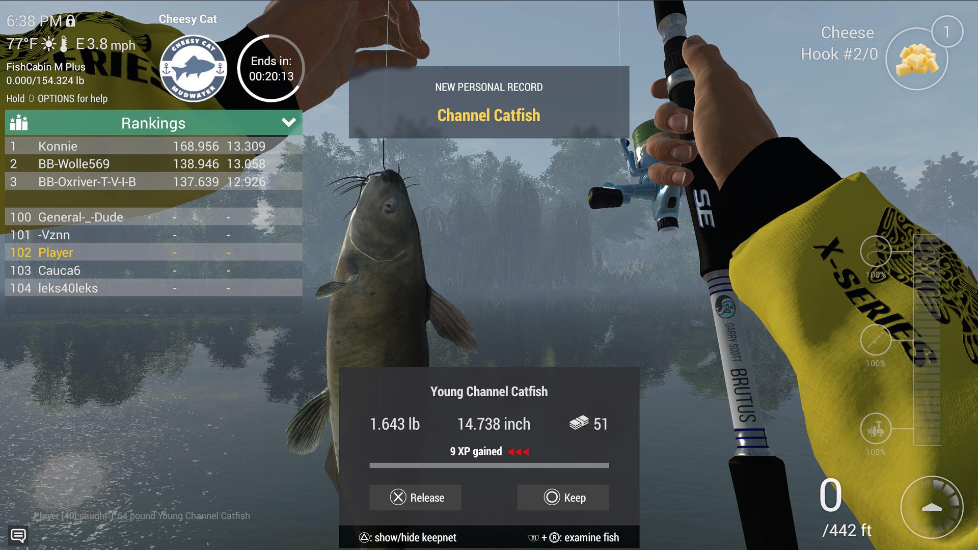 Скриншот №9 к FISHING PLANET