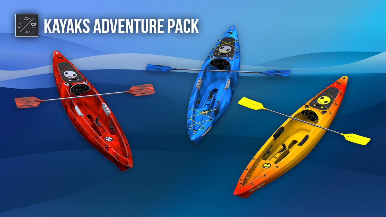 Kayaks adventure pack on ps4 official playstation store for Fishing planet ps4