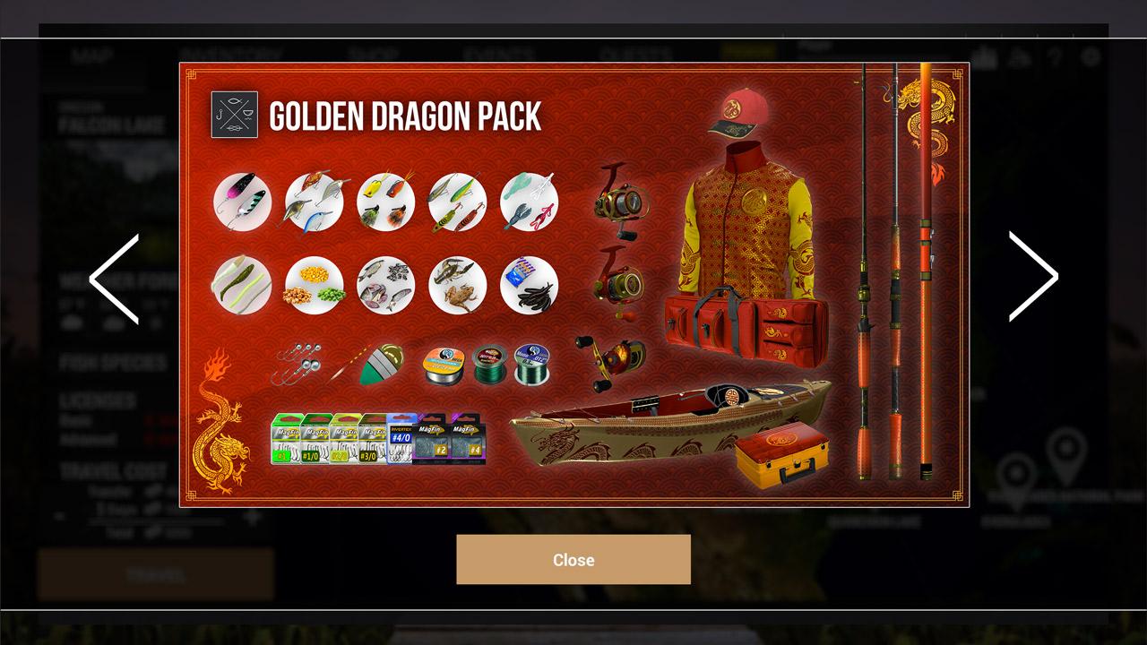 Fishing Planet: Golden Dragon Pack скриншот 3