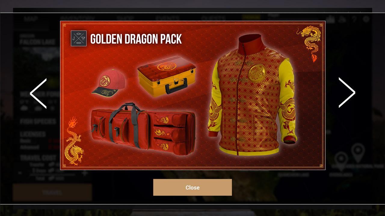 Fishing Planet: Golden Dragon Pack скриншот 1