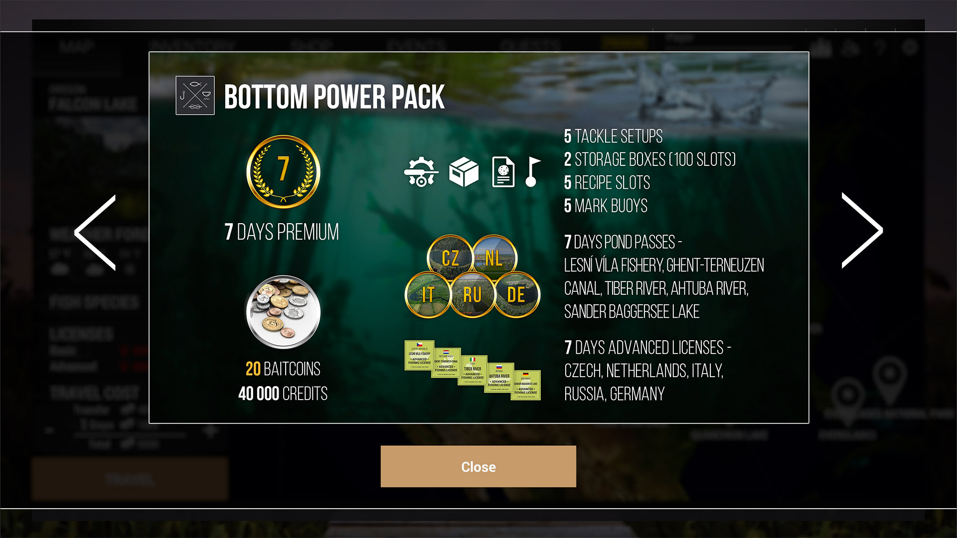 Fishing Planet: Bottom Power Pack