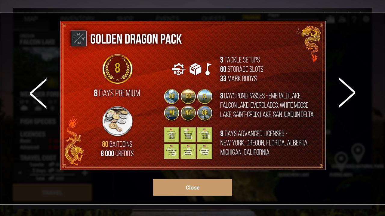 Fishing Planet: Golden Dragon Pack скриншот 2