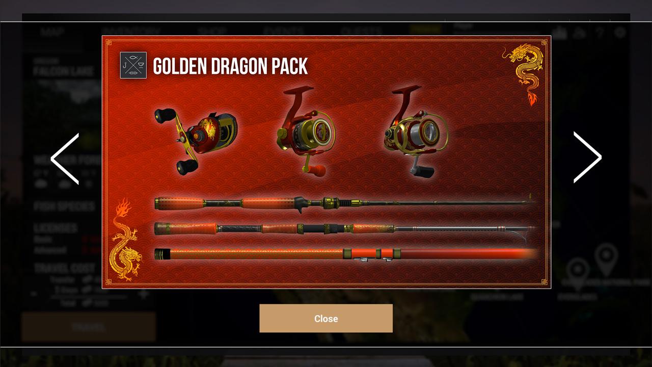 Fishing Planet: Golden Dragon Pack скриншот 4