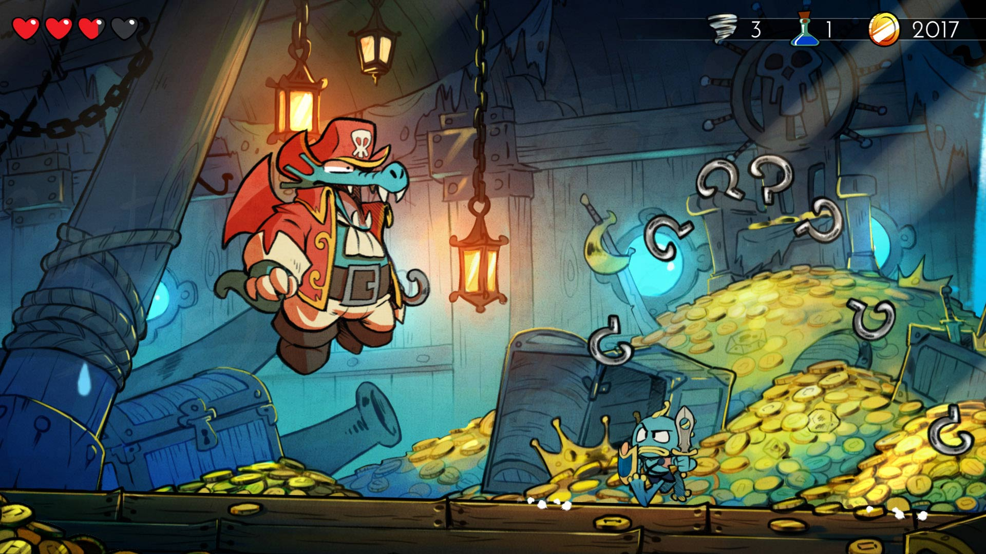 Image result for WONDER BOY: THE DRAGON'S TRAP