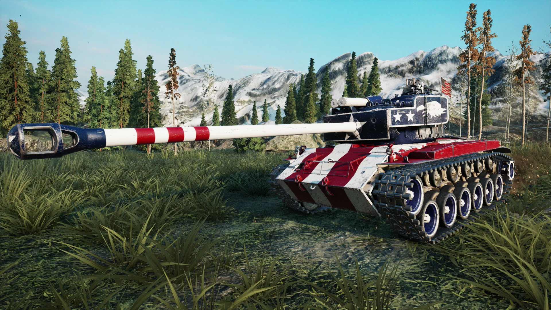 World of Tanks: Freedom Edition скриншот 1