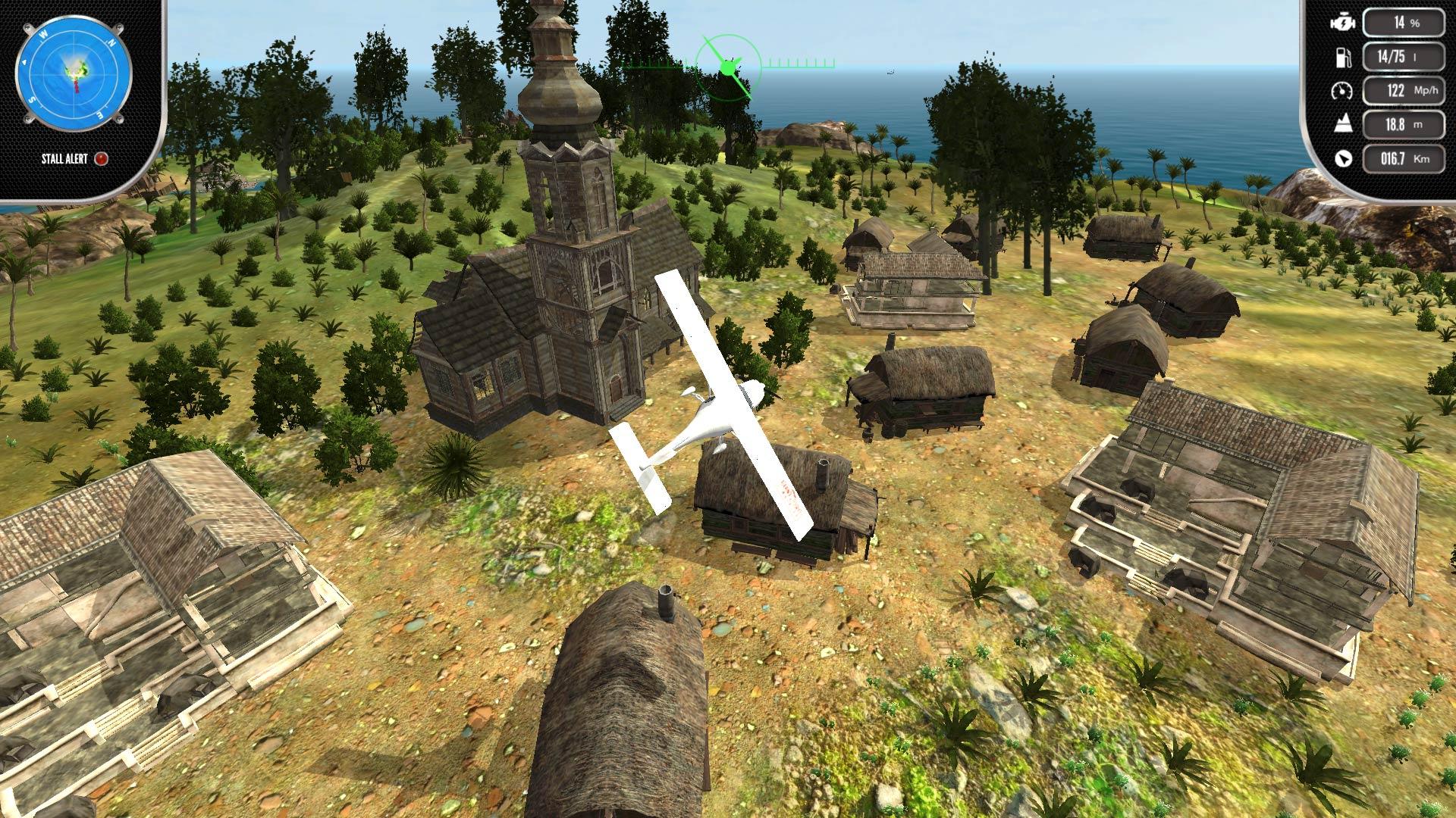 Скриншот №3 к Island Flight Simulator
