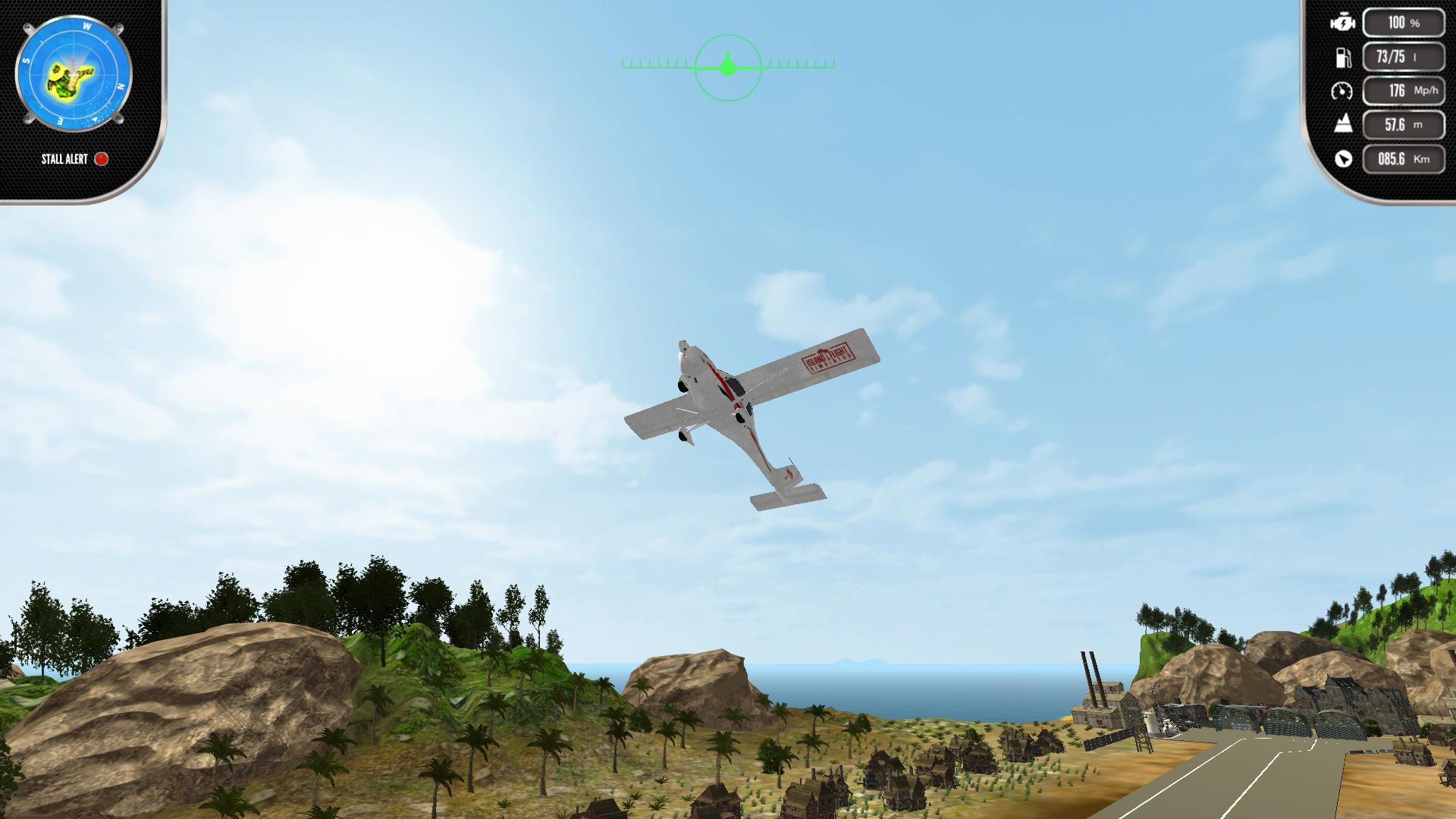 Скриншот №5 к Island Flight Simulator