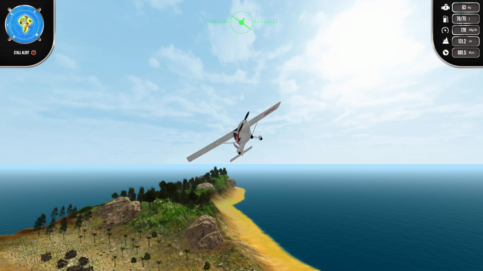 Скриншот №2 к Island Flight Simulator