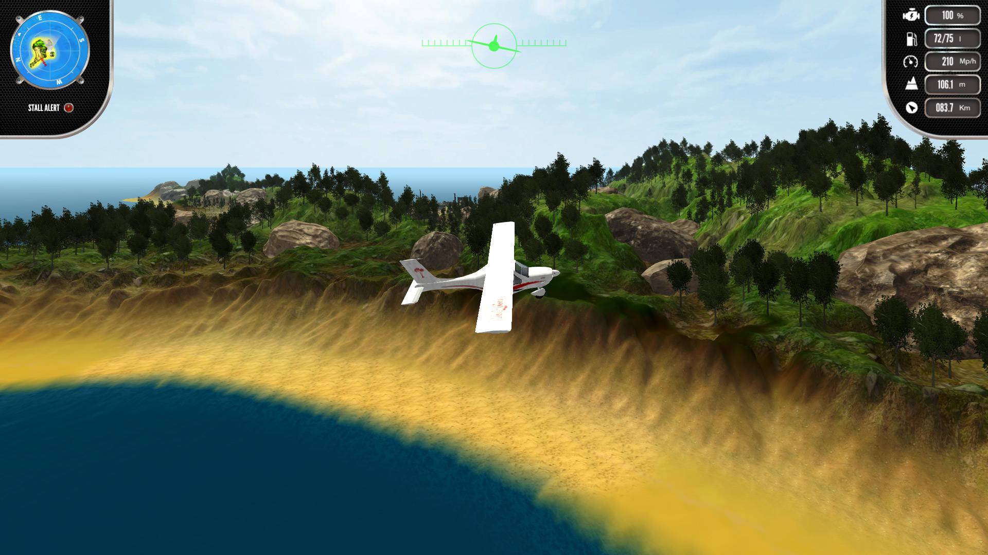 Скриншот №6 к Island Flight Simulator