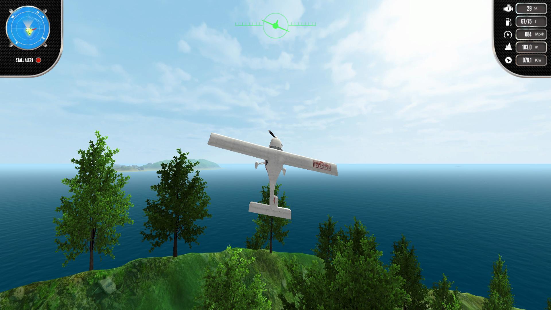 Скриншот №4 к Island Flight Simulator