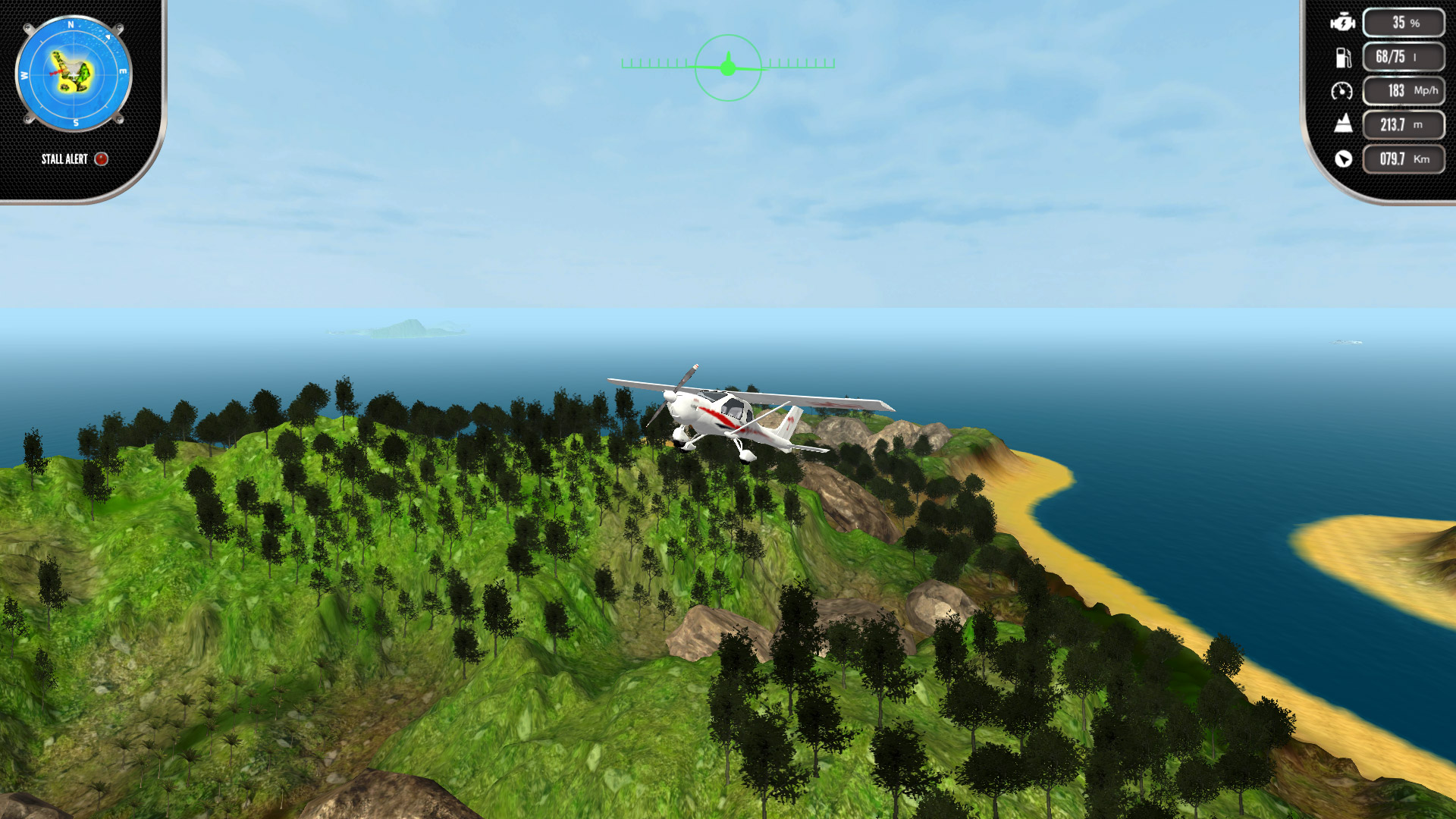 Скриншот №7 к Island Flight Simulator