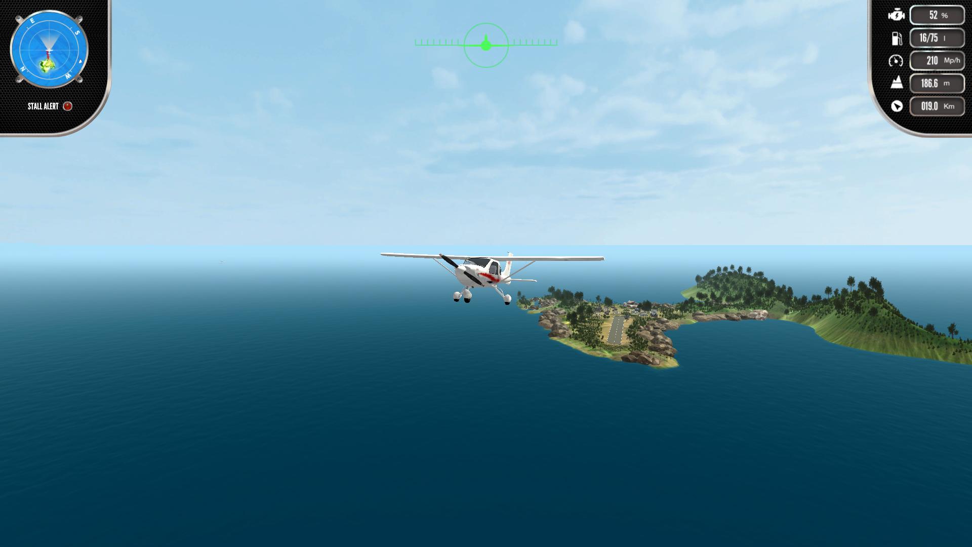 Скриншот №10 к Island Flight Simulator