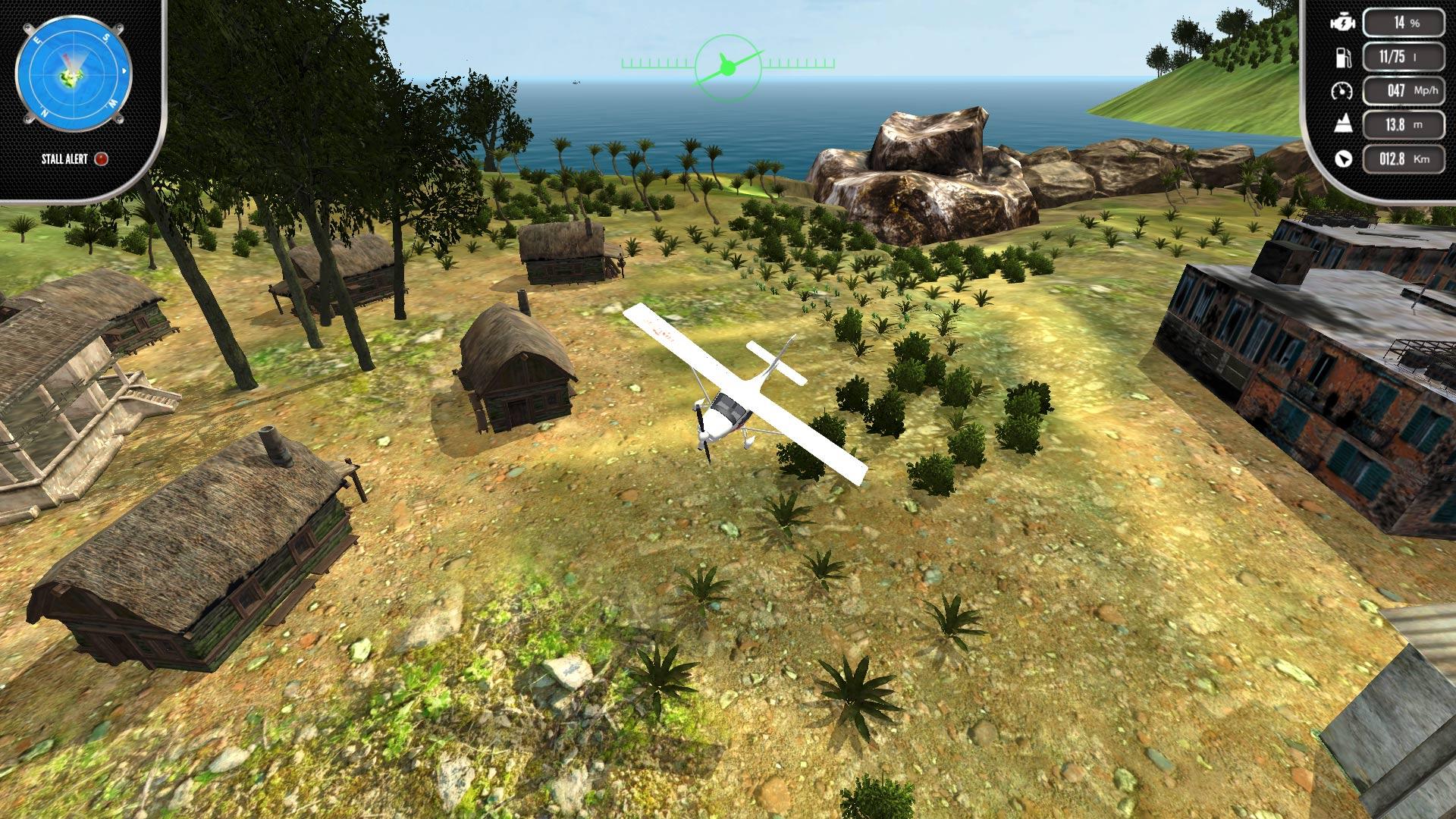 Скриншот №9 к Island Flight Simulator