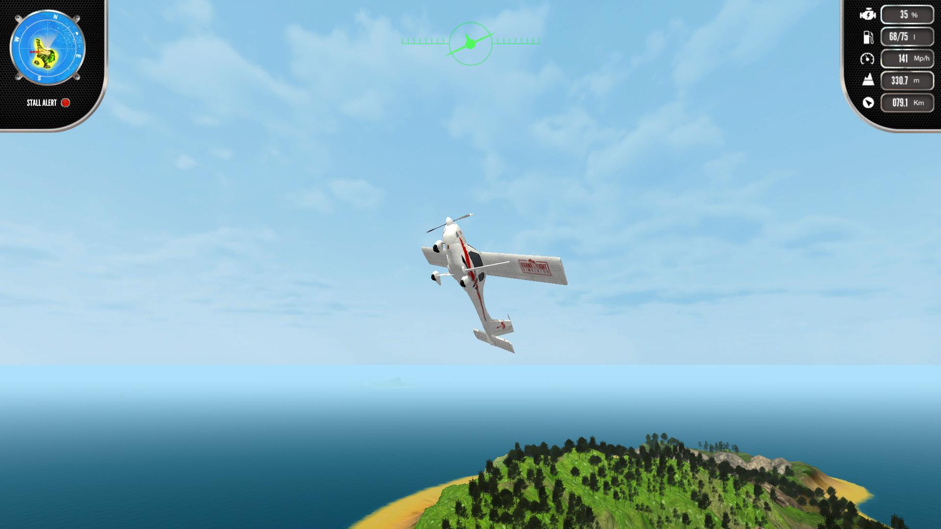 Скриншот №8 к Island Flight Simulator
