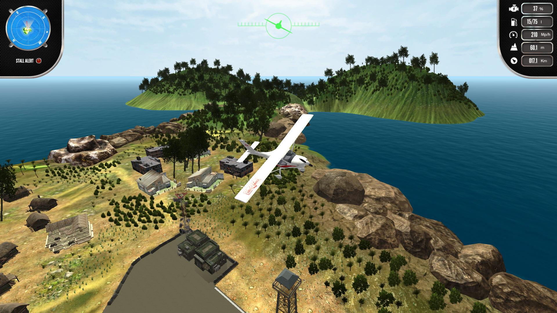 Скриншот №1 к Island Flight Simulator