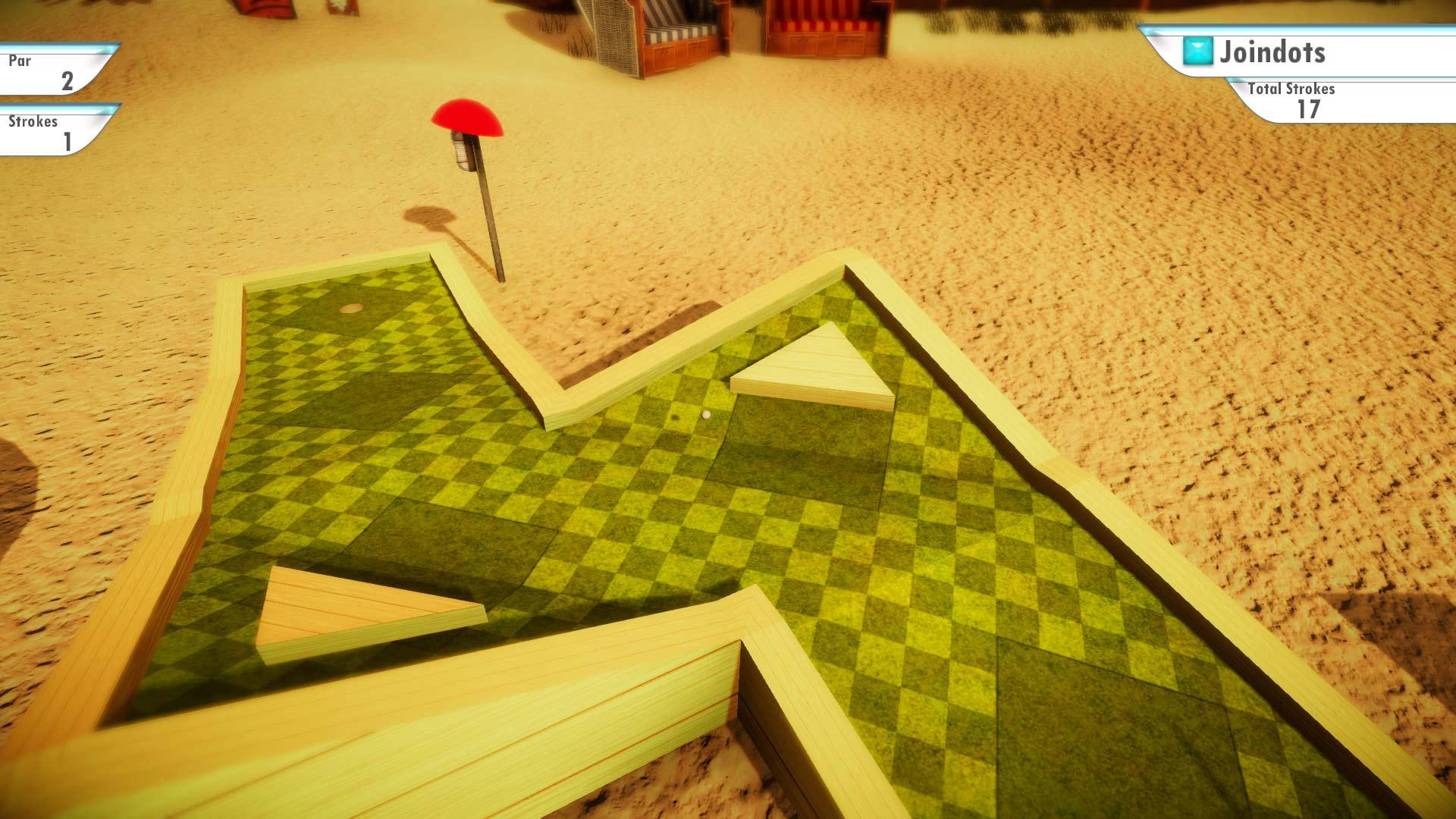 Скриншот №2 к 3D MiniGolf
