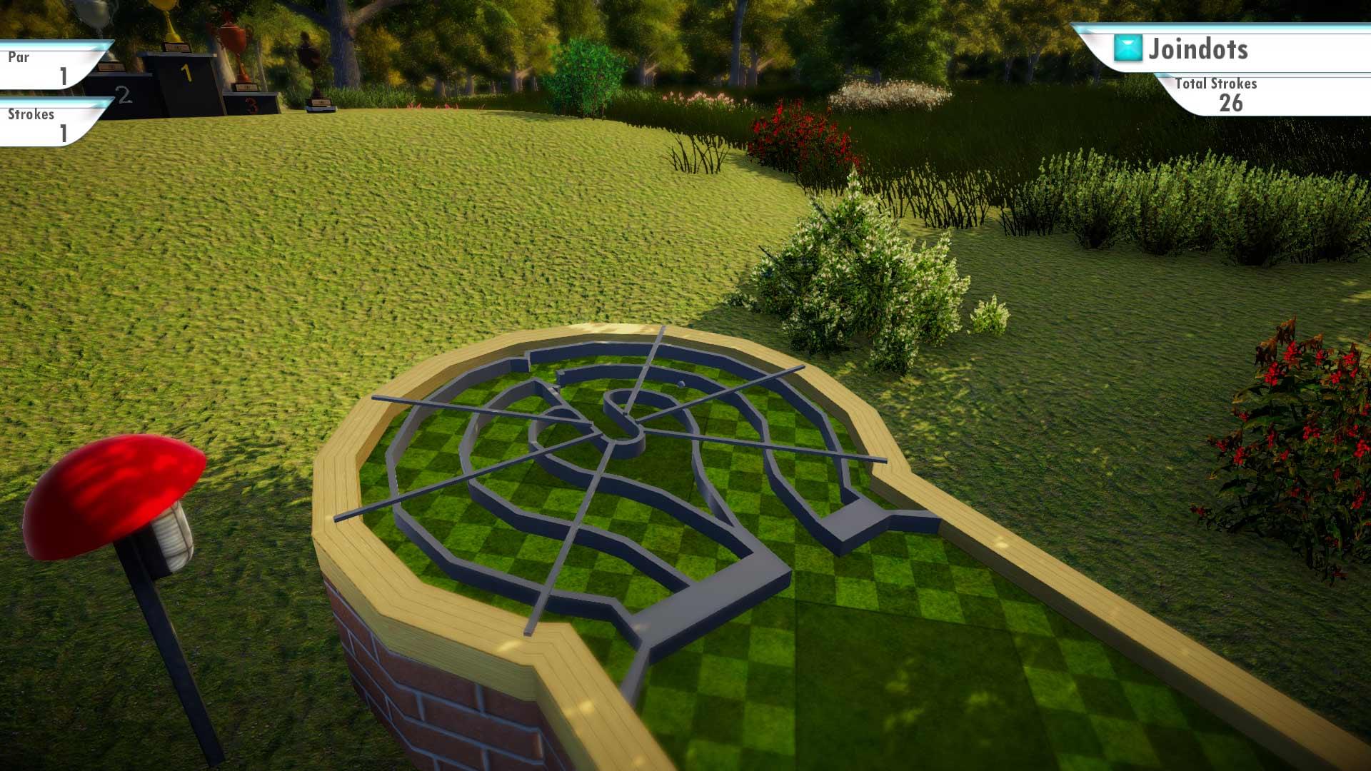 Скриншот №10 к 3D MiniGolf