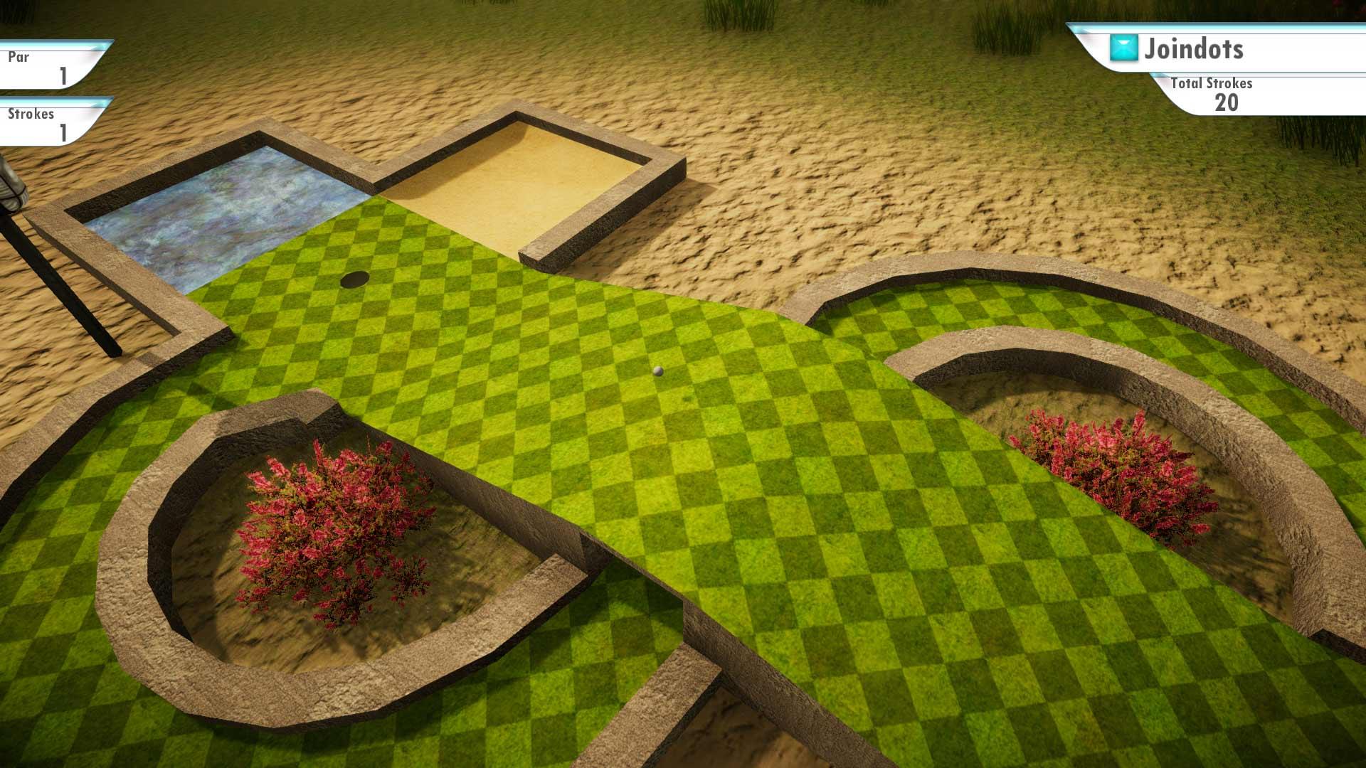 Скриншот №1 к 3D MiniGolf