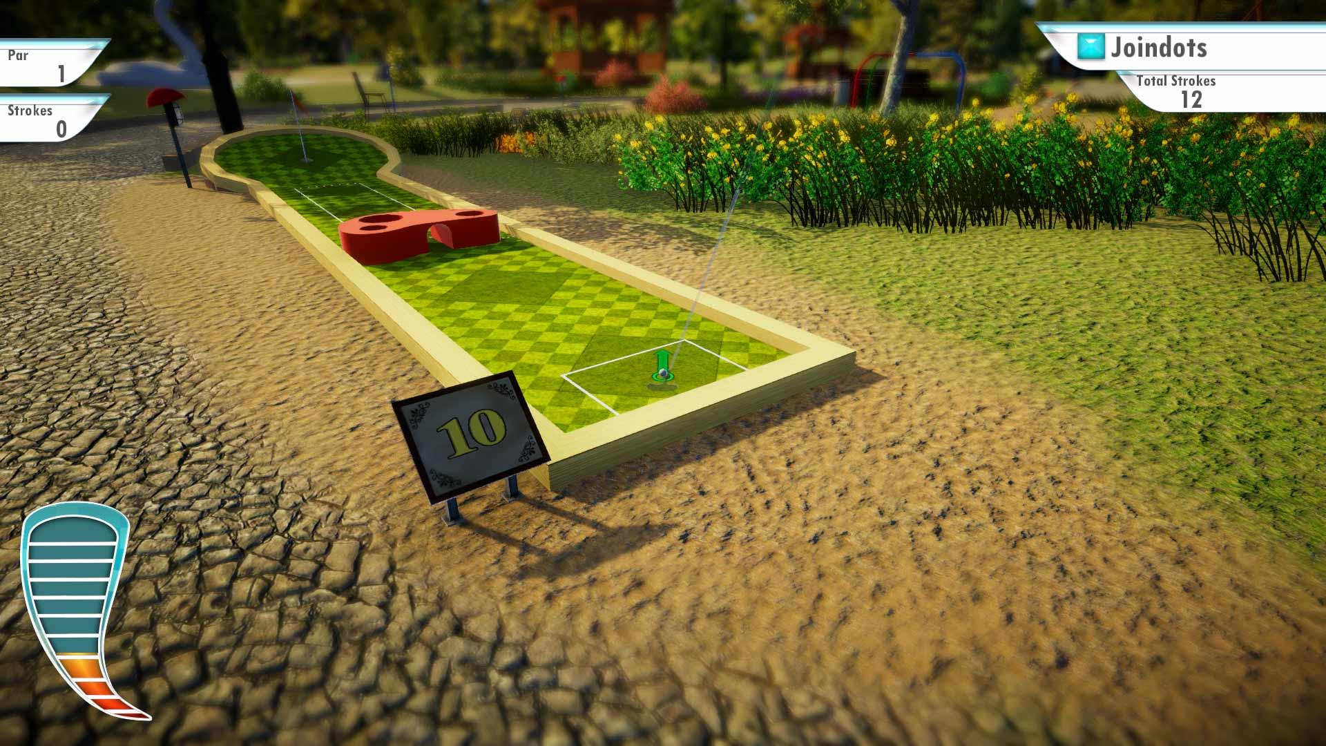Скриншот №6 к 3D MiniGolf