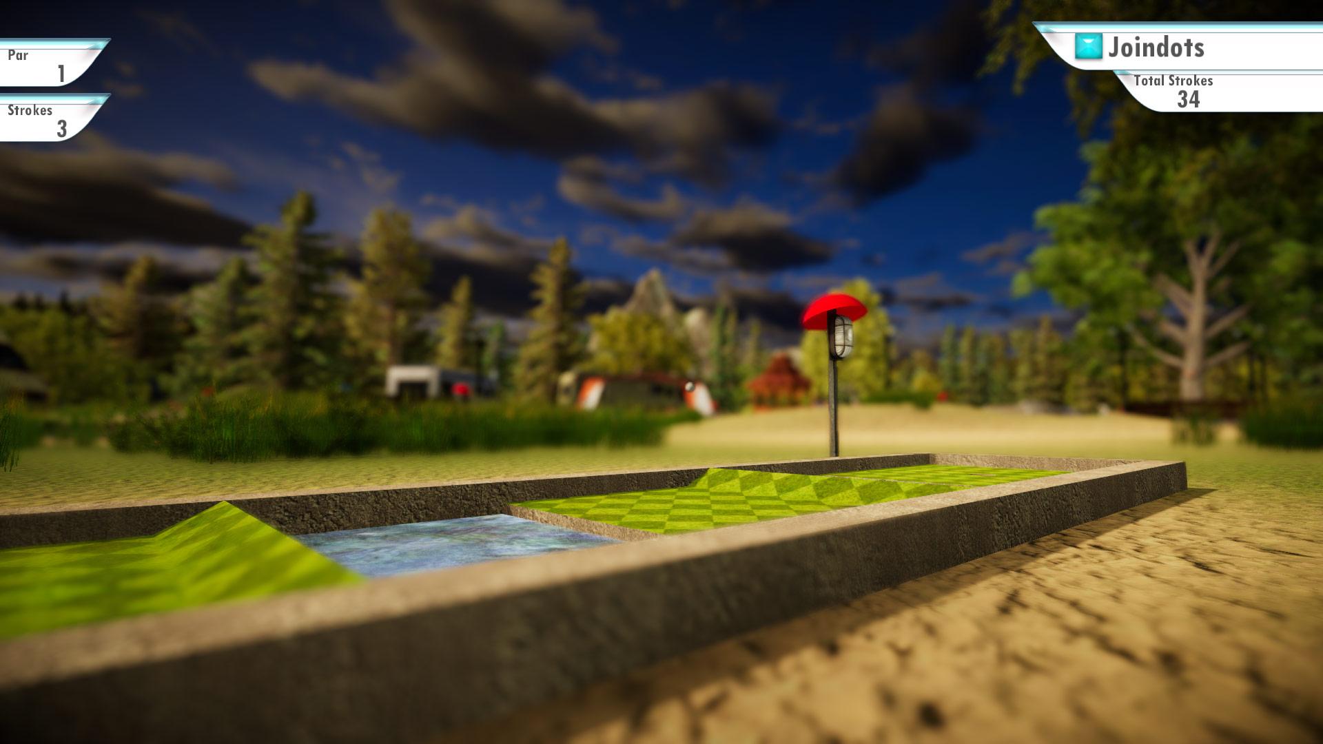 Скриншот №5 к 3D MiniGolf
