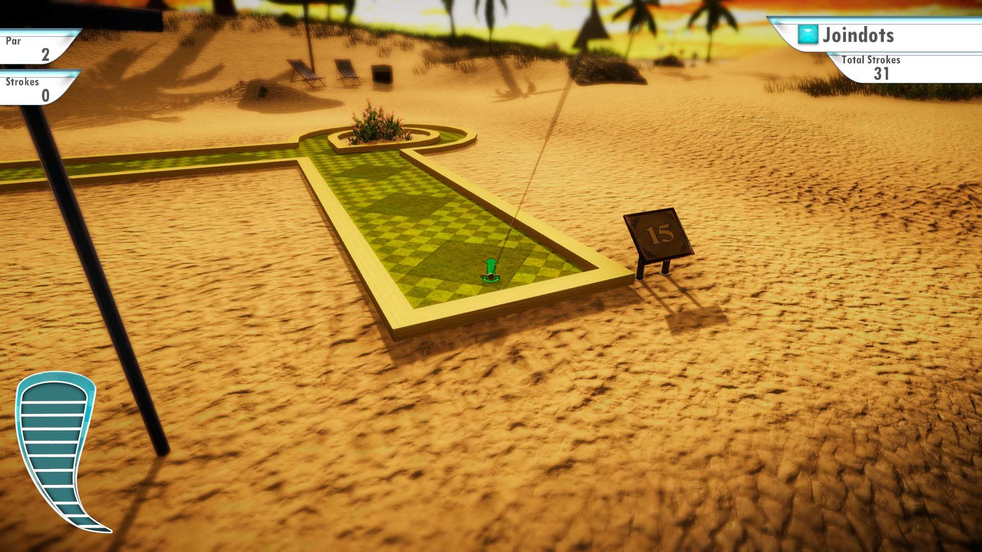 Скриншот №8 к 3D MiniGolf