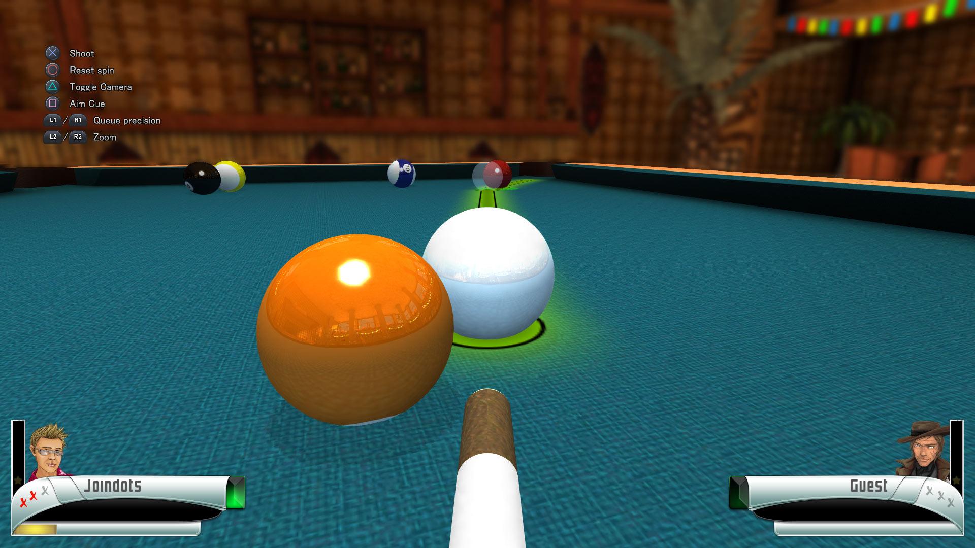 Скриншот №3 к 3D Billiards - Pool and Snooker