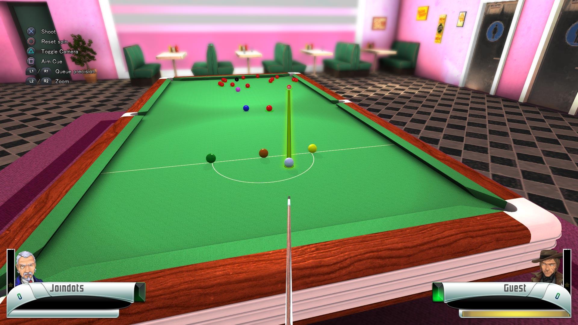 Скриншот №9 к 3D Billiards - Pool and Snooker