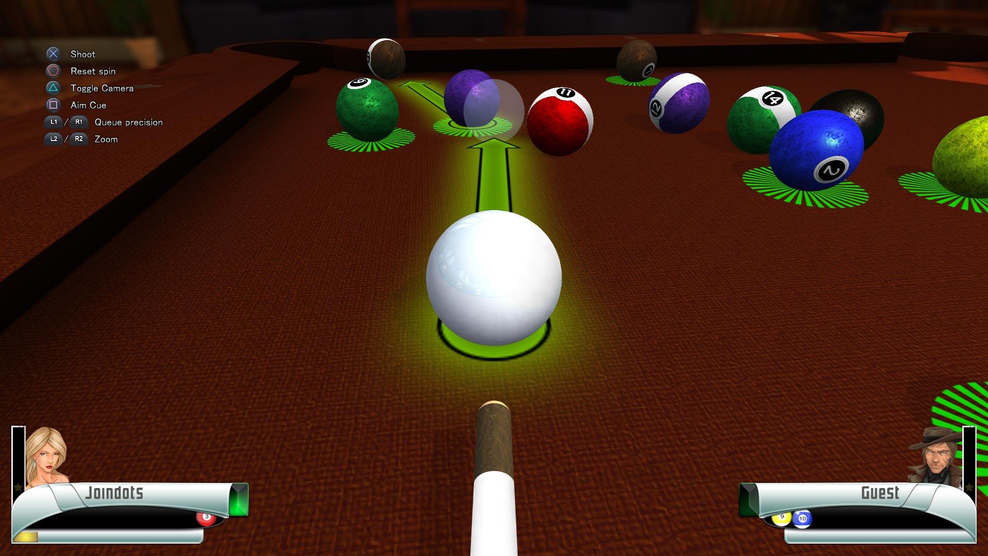 Скриншот №8 к 3D Billiards - Pool and Snooker