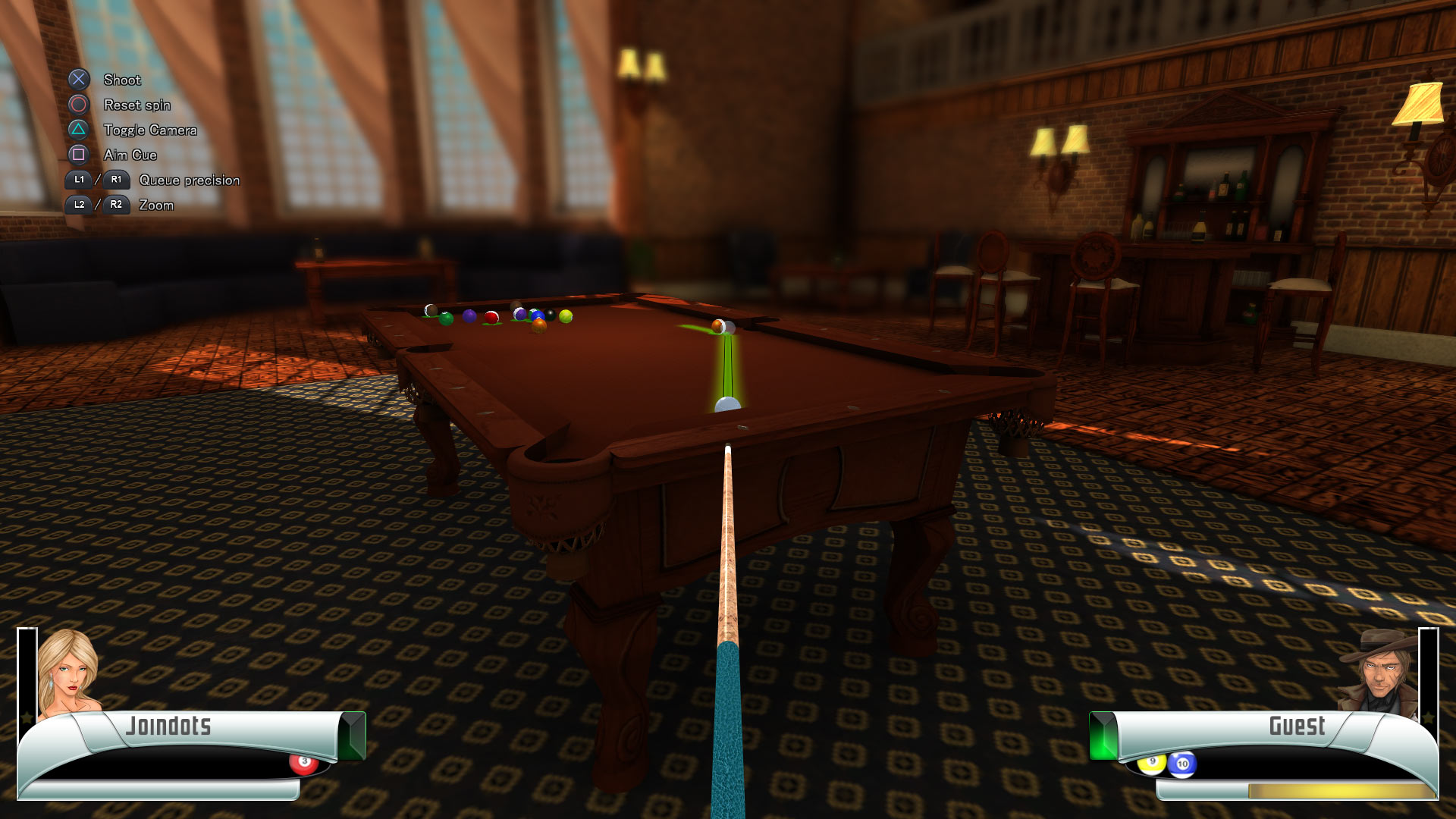 Скриншот №7 к 3D Billiards - Pool and Snooker
