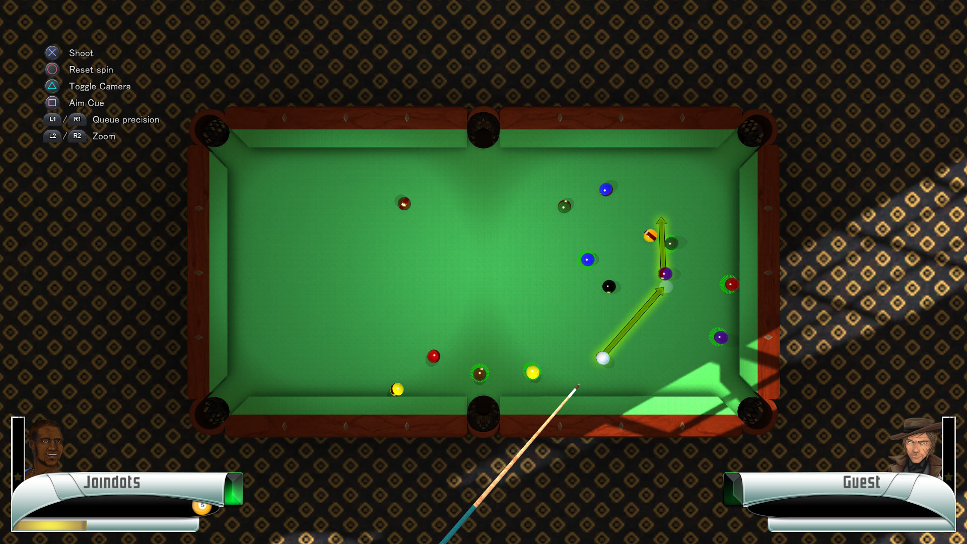 Скриншот №6 к 3D Billiards - Pool and Snooker