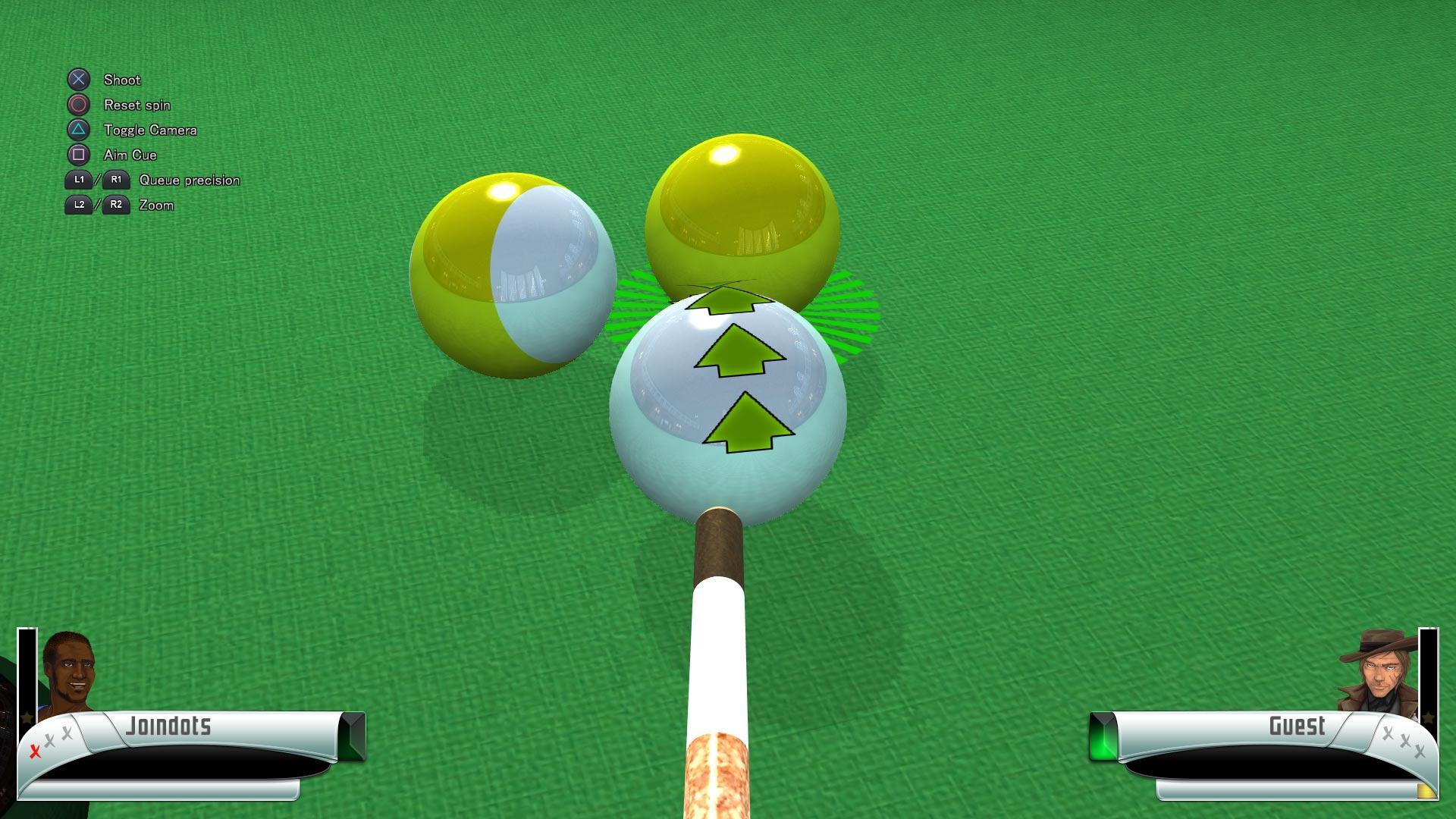 Скриншот №4 к 3D Billiards - Pool and Snooker