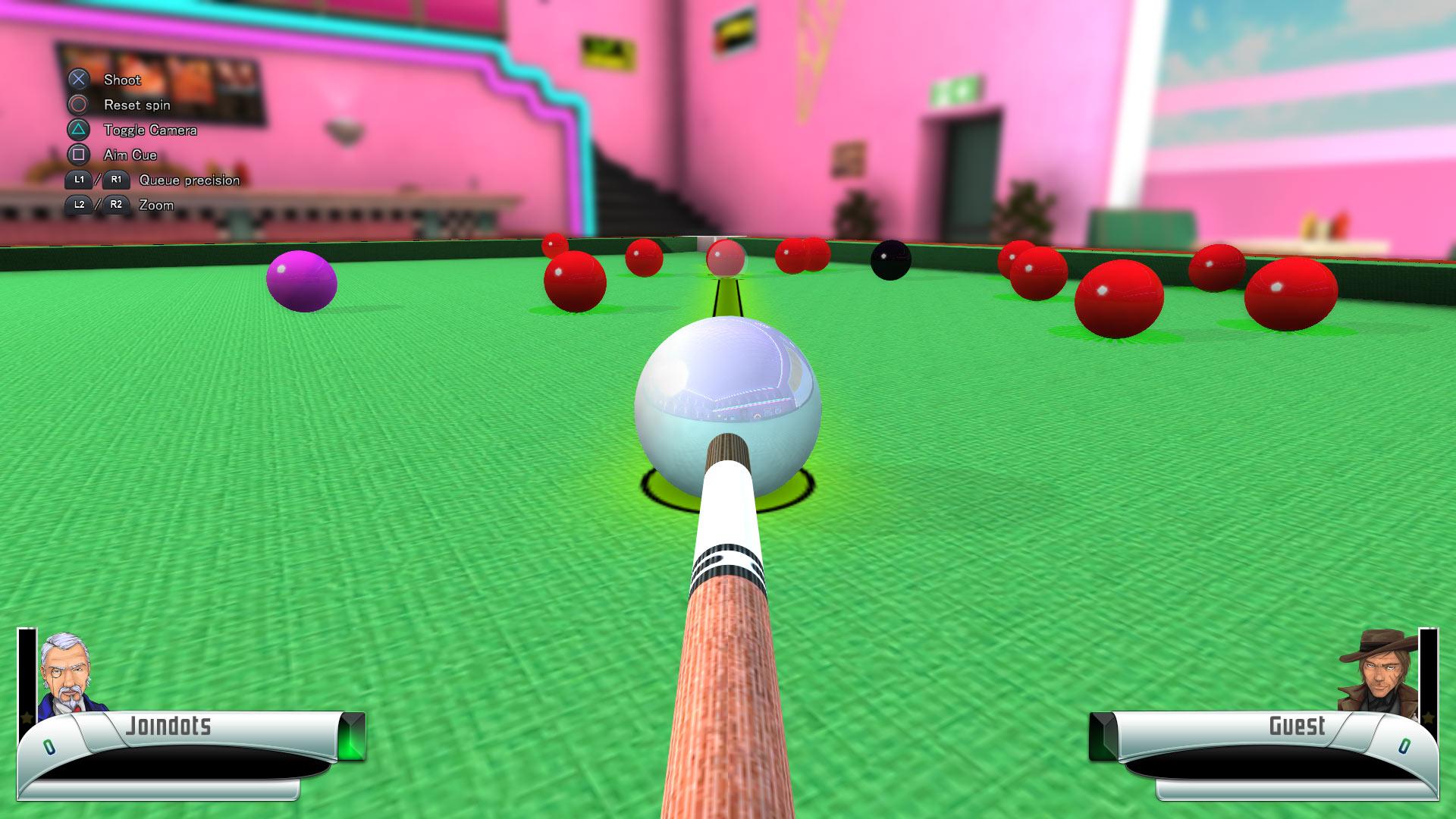 Скриншот №10 к 3D Billiards - Pool and Snooker