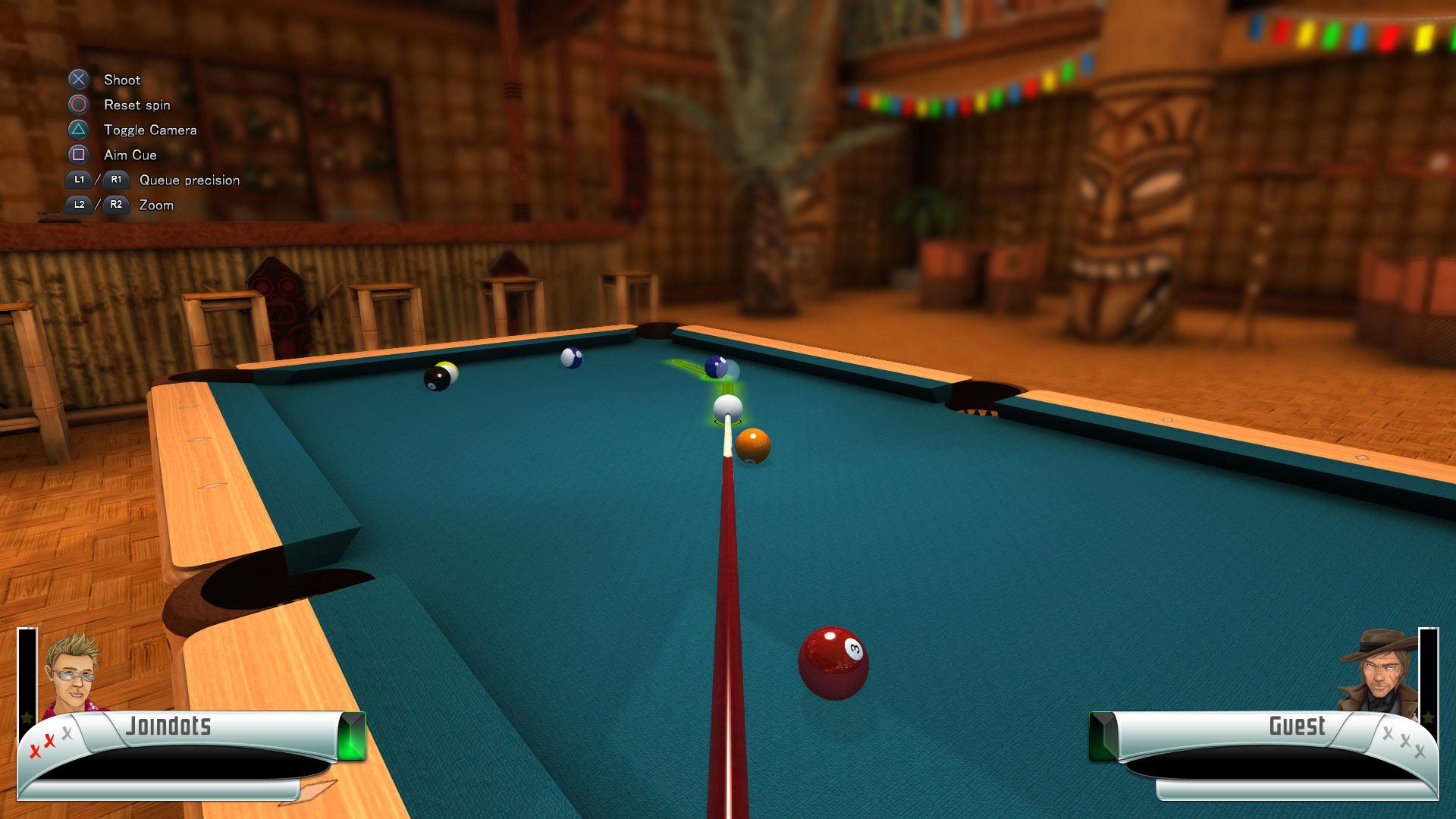 Скриншот №2 к 3D Billiards - Pool and Snooker