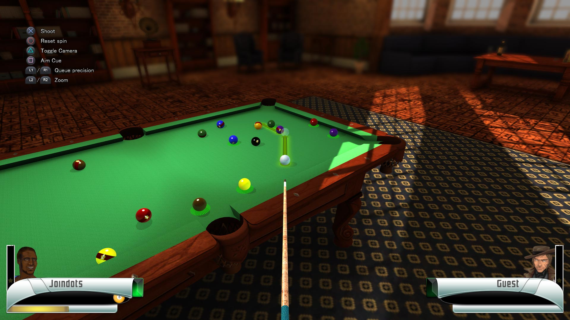 Скриншот №5 к 3D Billiards - Pool and Snooker